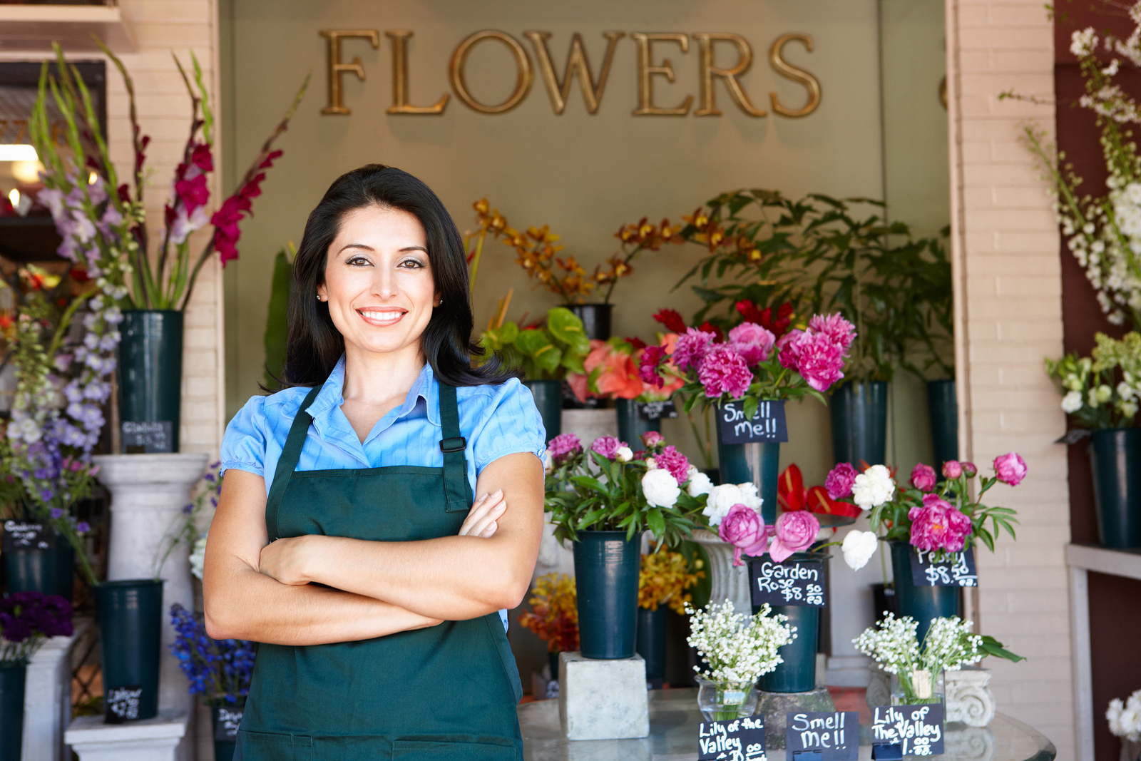 flower shop government grant