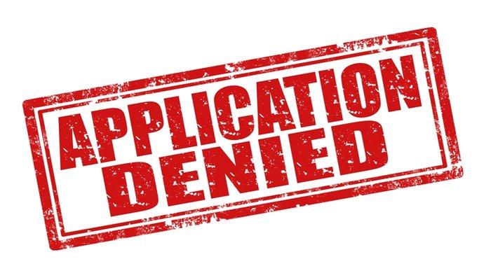 funding agency denied application