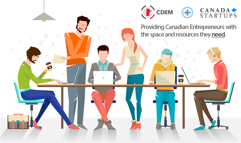 Canadastartups Partnership with CDEM