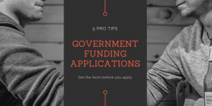 5 pro tips to government funding applications