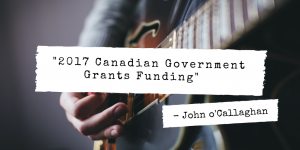 Canadian Government Grants