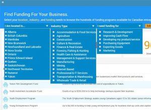 funding database