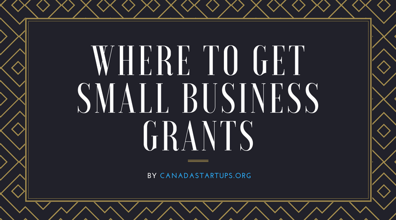 Where to get small business grants