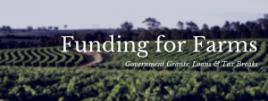 Farm Grants and Government Funding
