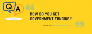 get government funding