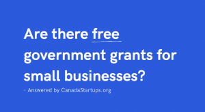 free government grants for small businesses