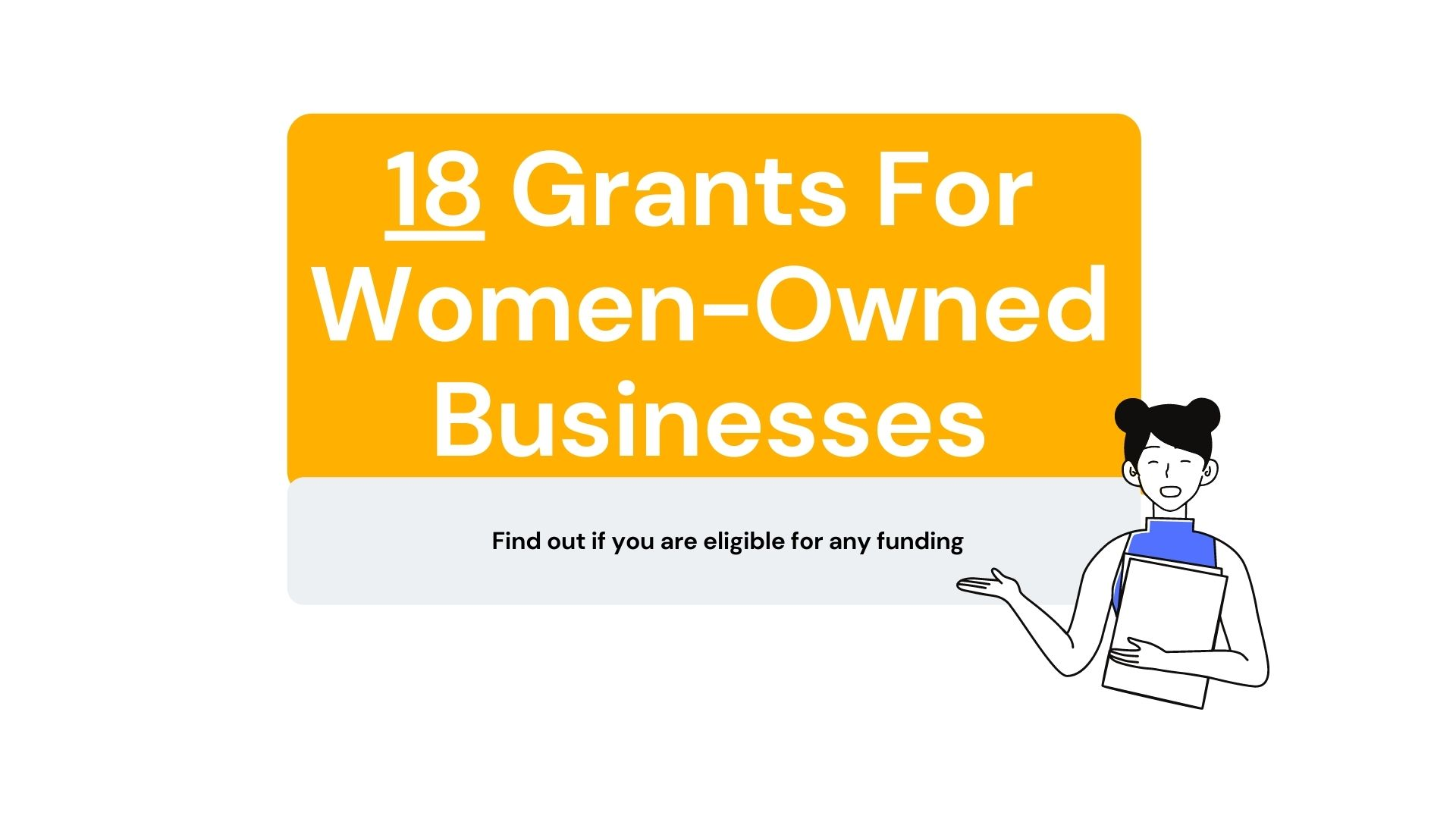 18 Grants For Women-Owned Businesses
