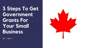 Get government grants for your small business