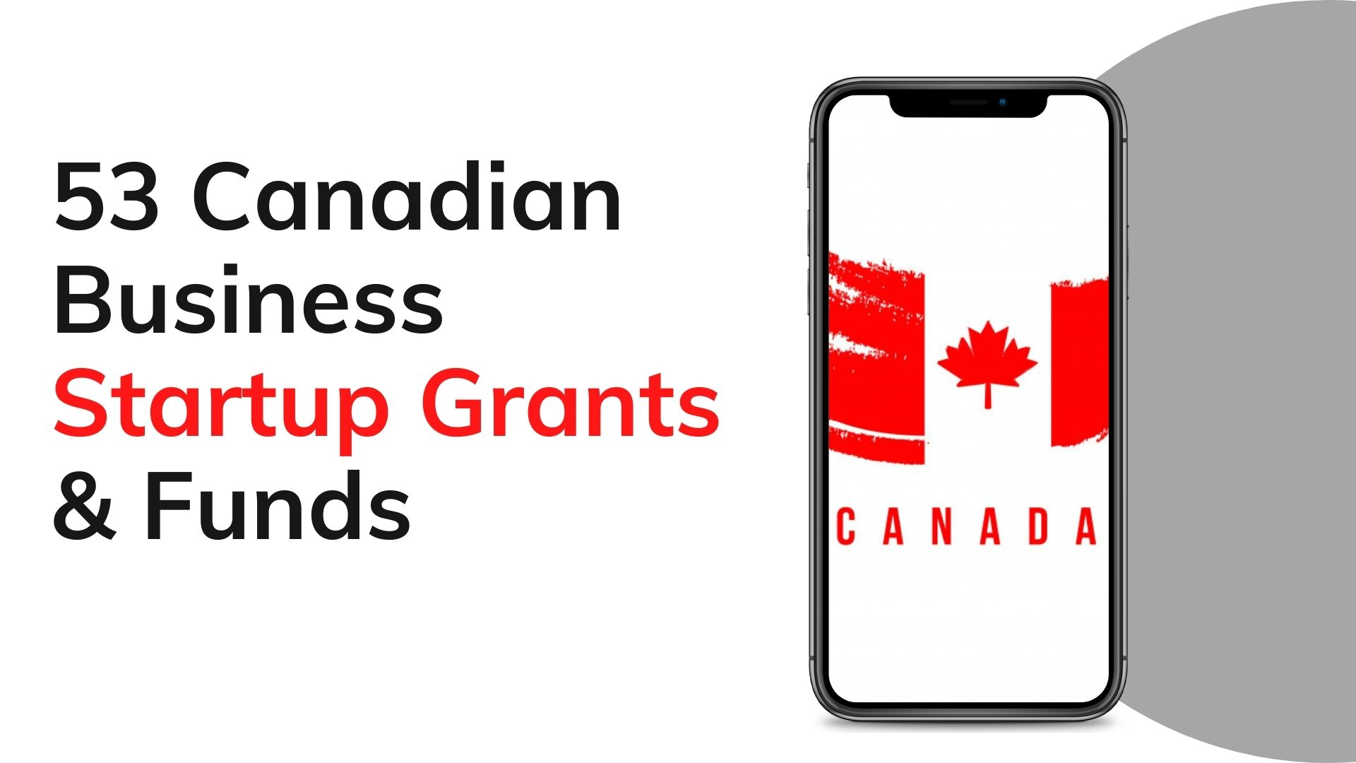 Canadian Startup Grants